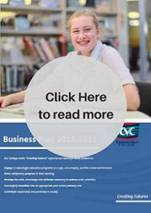 Canning Vale College Business Plan 2018-2021