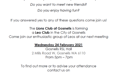 Leo Lions Club of Gosnells