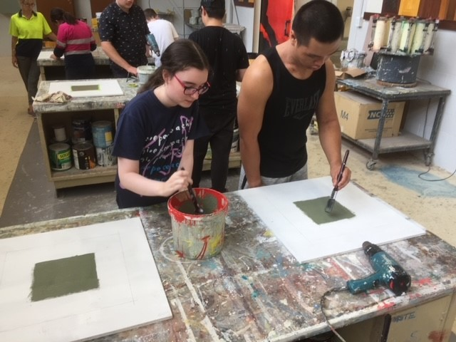Students Further their Skills at TAFE