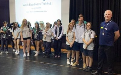 Workplace Learning Students Attend Work Readiness Induction