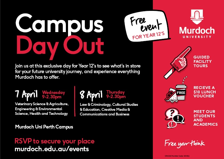 Murdoch University Campus Day Out