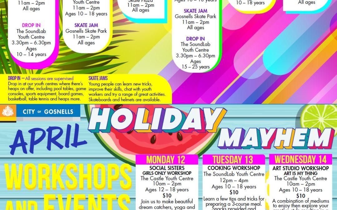 City of Gosnells April Holiday Programs