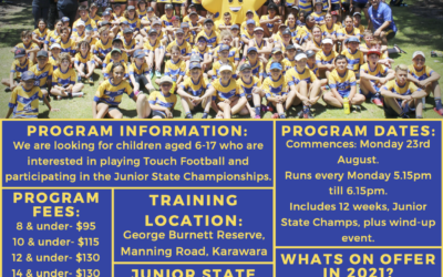 Southern Stars Junior Touch Football