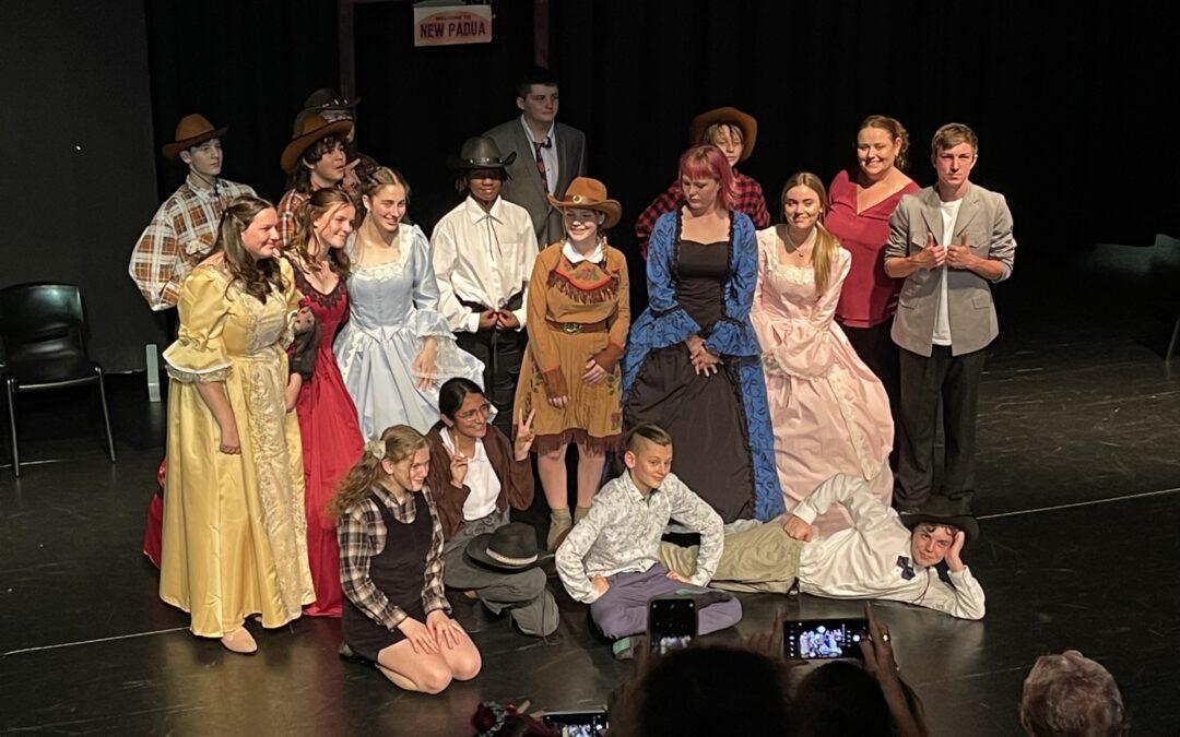 Year 9 Drama Perform Taming of LaRue