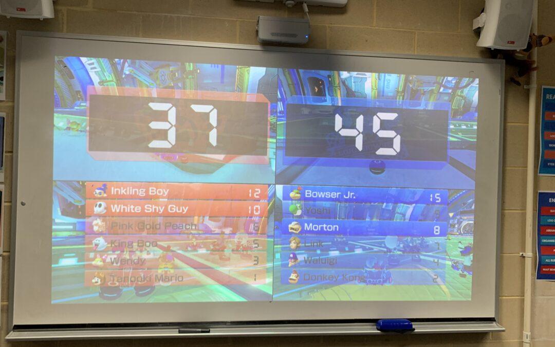 Mario Kart Lower School Tournament Update
